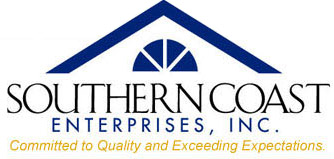 Southern Coast Enterprises – Roofing Contractor Logo
